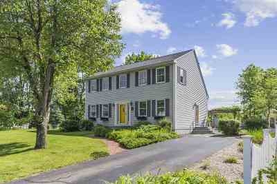 Merrimack Single Family Home Active Under Contract: 5 Brant Drive