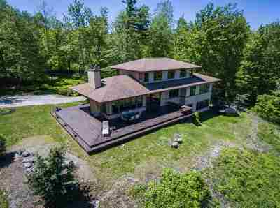Hinesburg Single Family Home For Sale: 284 Dynamite Hill Road