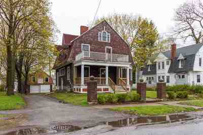 Rutland, Rutland City Single Family Home For Sale: 20 E Center Street