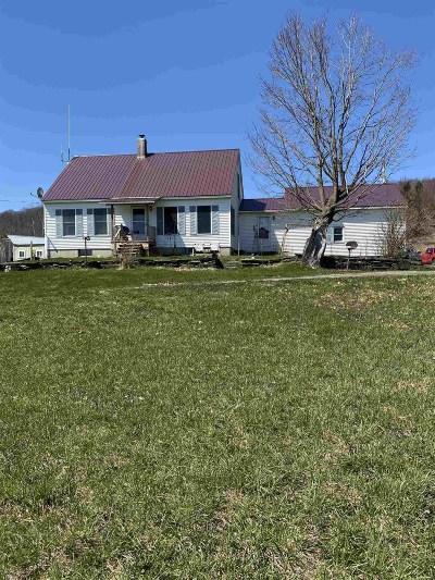Franklin County Single Family Home For Sale: 212 Spaulding Road