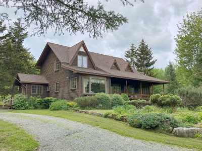 Franklin County Single Family Home For Sale: 2312 Hazens Notch Road