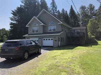 Hardwick Single Family Home For Sale: 2576 Vt. Rte 15 East