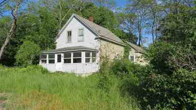 Moultonborough Single Family Home For Sale: 150 Old Route 109