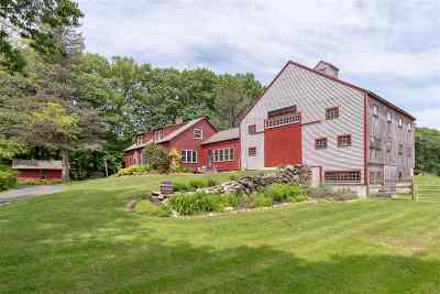 Gilford Single Family Home Active Under Contract: 73 Schoolhouse Hill Road
