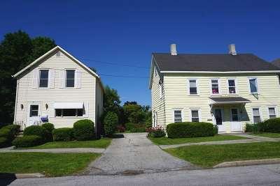 Rutland, Rutland City Multi Family Home For Sale: 37-41 East Street