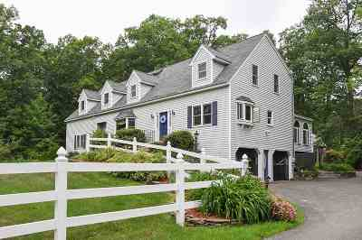 Hampstead Single Family Home Active Under Contract: 200 Depot Road