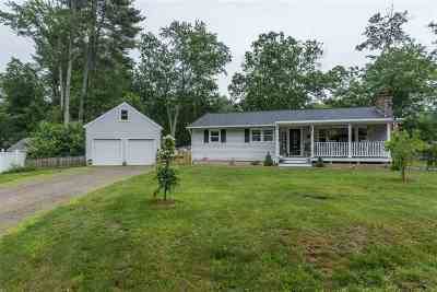 Merrimack Single Family Home Active Under Contract: 24 Currier Road