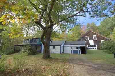 Sanbornton Single Family Home For Sale: 249 Brook Road