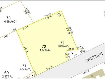 Moultonborough Residential Lots & Land For Sale: Lot 72 Whittier Highway