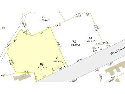 Moultonborough Residential Lots & Land For Sale: Lot 69 Whittier Hwy Highway