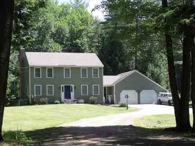 Goffstown Single Family Home Active Under Contract: 314 Gorham Pond Road