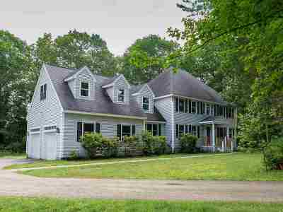 Single Family Home For Sale: 83r2 Stratham Heights Road