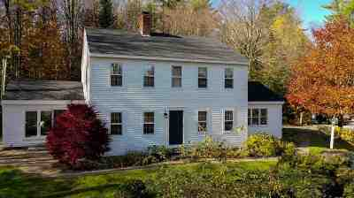 Merrimack County Single Family Home For Sale: 232 Forest Acres Road