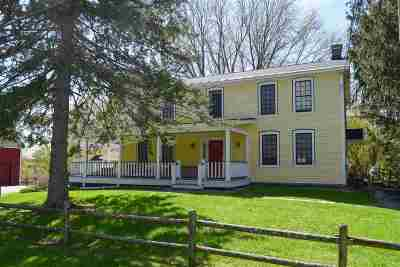 Weybridge Single Family Home For Sale: 1787 Quaker Village Road