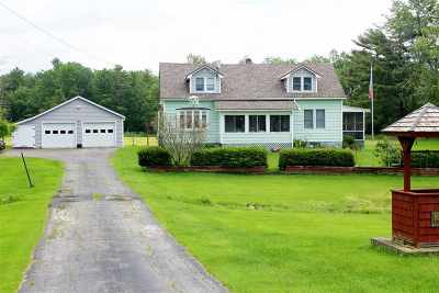 Leicester Single Family Home For Sale: 1657 Route 7 Highway
