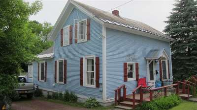 Poultney Single Family Home For Sale: 28 Furnace Street Street