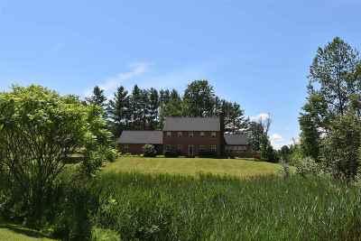 Rutland Town Single Family Home For Sale: 436 Hitzel Terrace