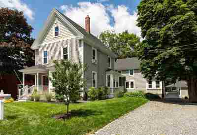 Kittery Single Family Home Active Under Contract: 16 Central Avenue