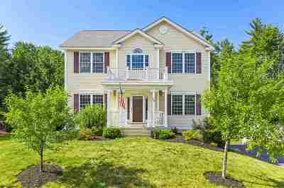 Merrimack Single Family Home Active Under Contract: 16 Grapevine Road