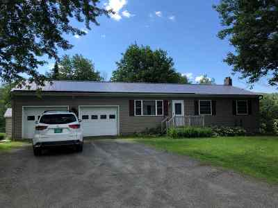 Eden Single Family Home Active Under Contract: 2186 Vt. Rte. 100 Highway