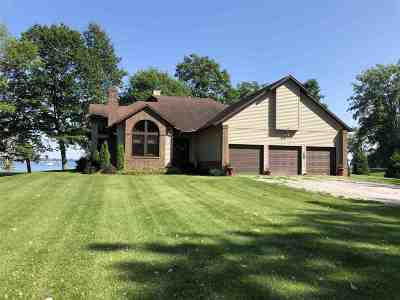 Grand Isle County Single Family Home For Sale: 1411 Windmill Point Ext.