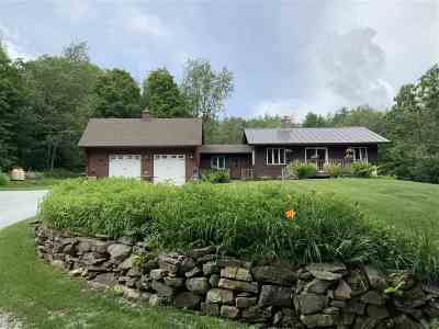 Chittenden Single Family Home For Sale: 64 Casey Road