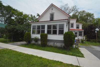 St. Albans City Single Family Home For Sale: 13 Oak Street Street