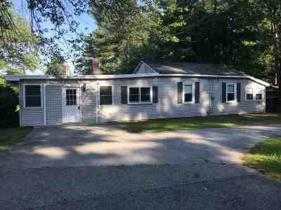 Manchester Single Family Home Active Under Contract: 849 Corning Road