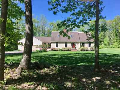 Dover Single Family Home For Sale: 8 Country Club Estates Drive