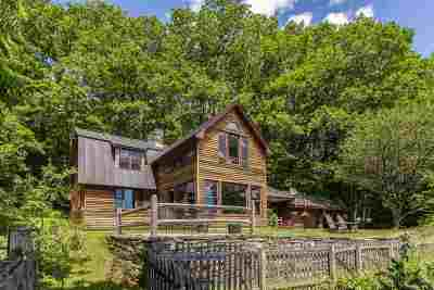 Thetford Single Family Home For Sale: 1693 Five Corners Road