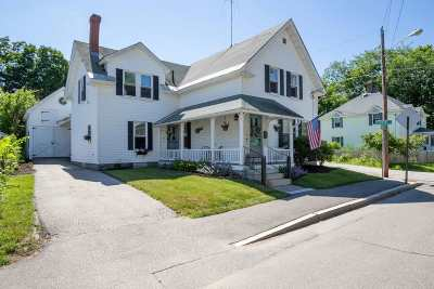 Concord Single Family Home Active Under Contract: 47 Bradley Street