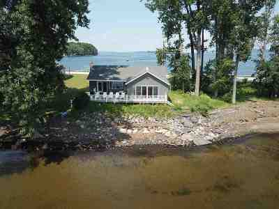 Grand Isle County Single Family Home For Sale: 51 Us Route 2