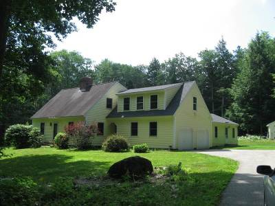 Loudon Single Family Home Active Under Contract: 150 Hemlock Hill Road