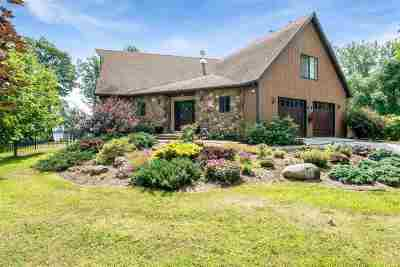 Grand Isle County Single Family Home For Sale: 1447 Windmill Point Road