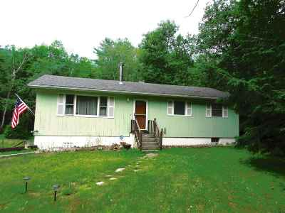 Leicester Single Family Home For Sale: 1865 Lake Dunmore Road