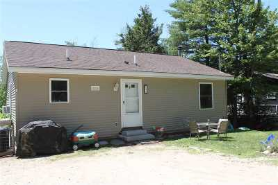 Alton NH Single Family Home For Sale: $165,000