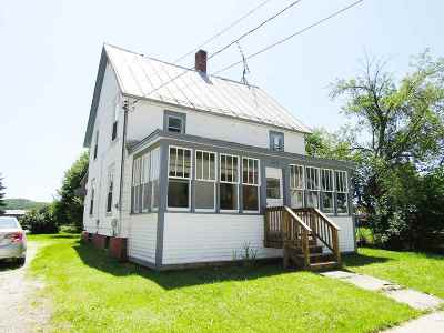 Enosburg Single Family Home For Sale: 226 School Street