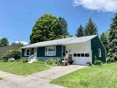 Laconia Single Family Home For Sale: 12 School Street