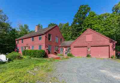 Lyme Single Family Home For Sale: 129 Franklin Hill Road