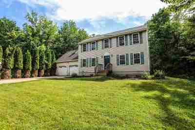 New Boston Single Family Home Active Under Contract: 92 Wilson Hill Road