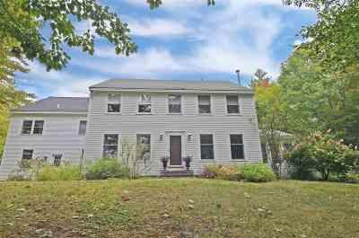 Merrimack County Single Family Home For Sale: 730 Kearsarge Mountain Road
