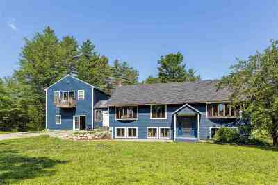 Merrimack County Single Family Home For Sale: 443 Mountain Road