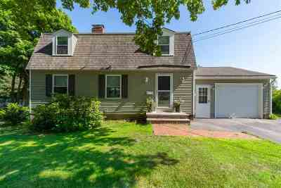 Dover Single Family Home Active Under Contract: 15 Hawthorne Road
