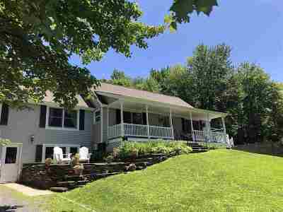 Waterbury Single Family Home For Sale: 48 Snow Hill Road
