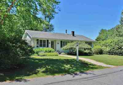 Hanover Single Family Home Active Under Contract: 4 Hunter Lane