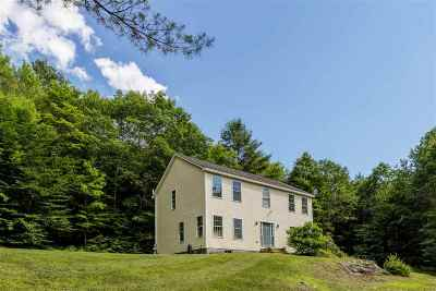 Thetford Single Family Home Active Under Contract: 5960 Route 113