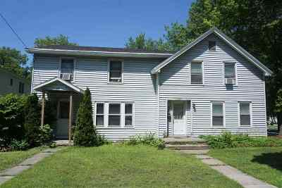 St. Albans City Multi Family Home For Sale: 126 So Main Street #1, 2