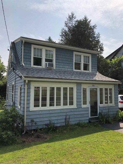 Montpelier Single Family Home Active Under Contract: 182 Berlin Street