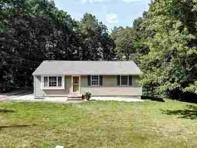 Merrimack Single Family Home Active Under Contract: 53 Belmont Drive