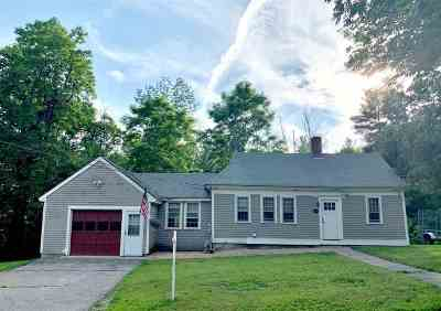 Amherst Single Family Home For Sale: 14 Mack Hill Road